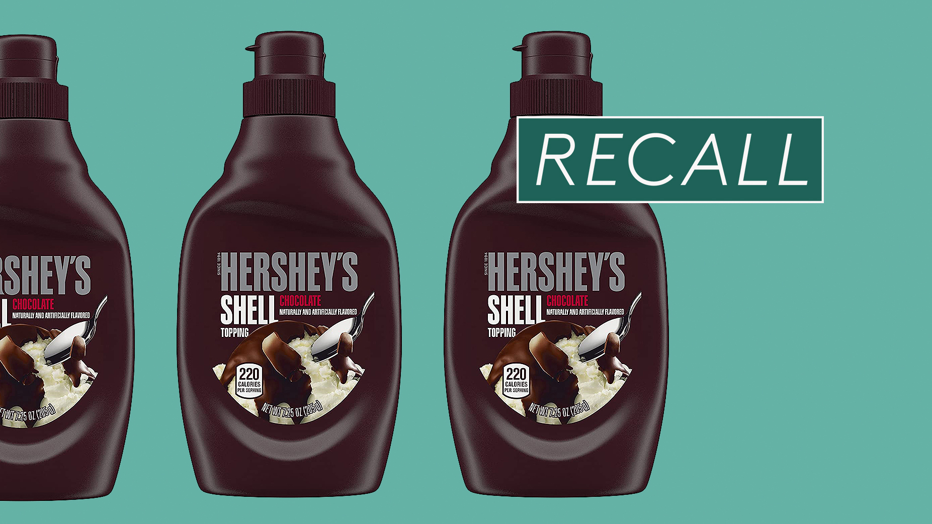 Hershey's Recalls Chocolate Topping After Bottles Were Accidentally Filled with Nuts