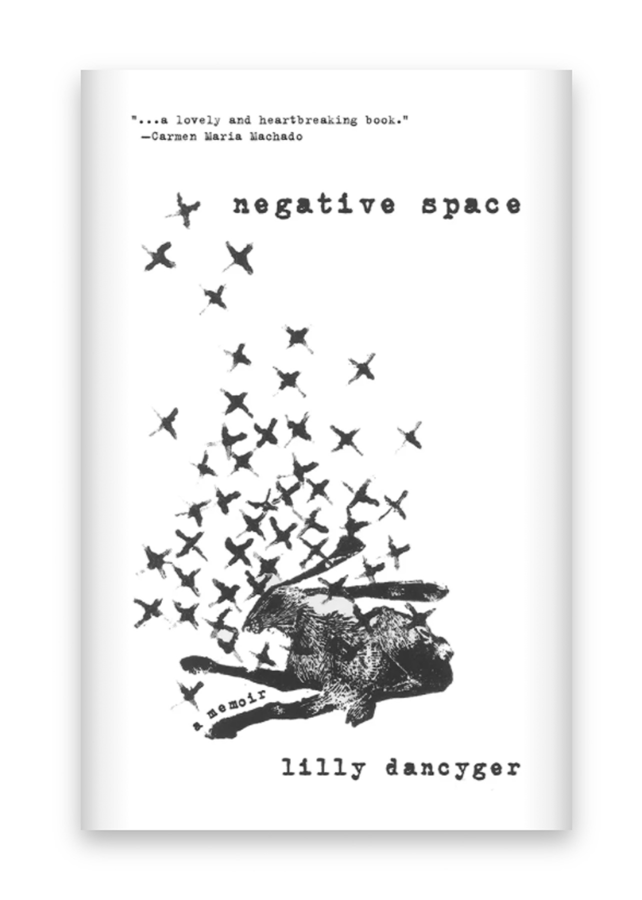 Best Spring Books to Read 2021: Negative Space by Lilly Dancyger