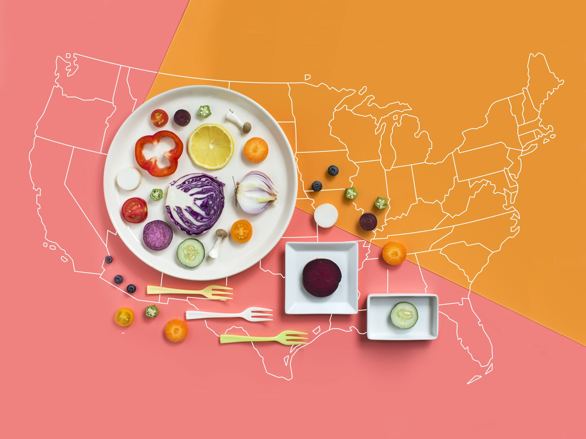 The Most Popular Vegetable in Every State