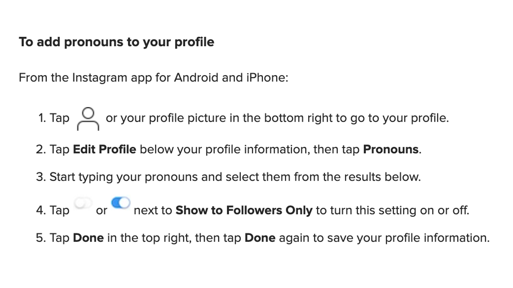 Instagram Introduces Feature for Users to Add or Change Pronouns on Their Profiles