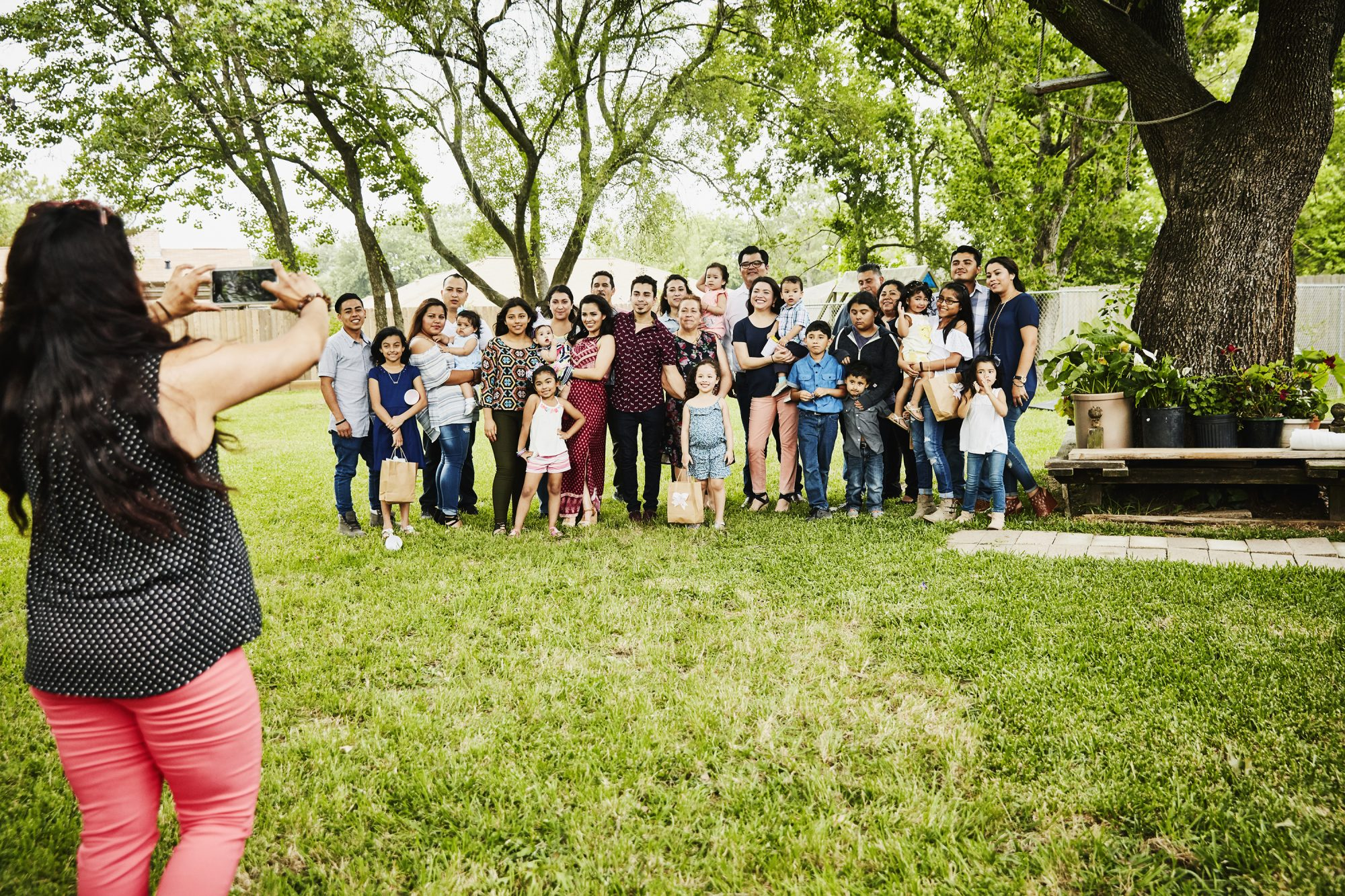 """Travelocity Survey Says Visiting Family Is the Top Travel """"Trend"""" for Summer 2021: family reunion picture"""
