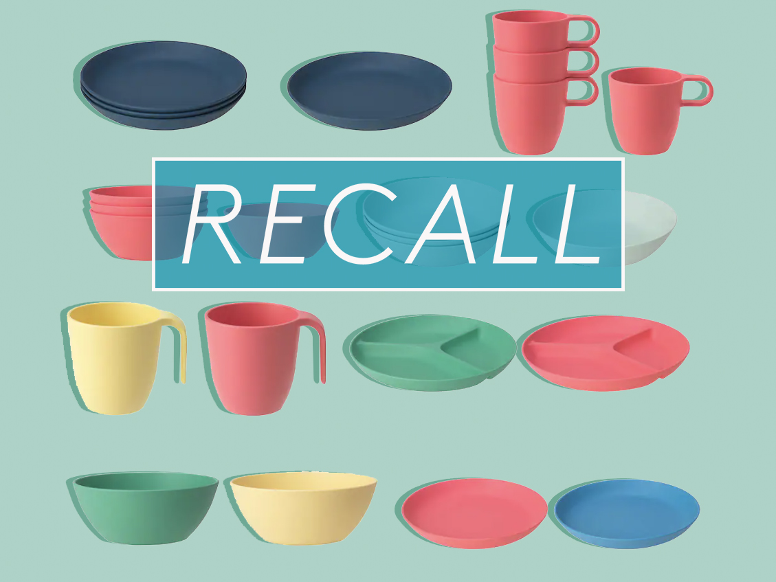 IKEA Recalls Plates, Bowls and Mugs for Possible Risk of Burns