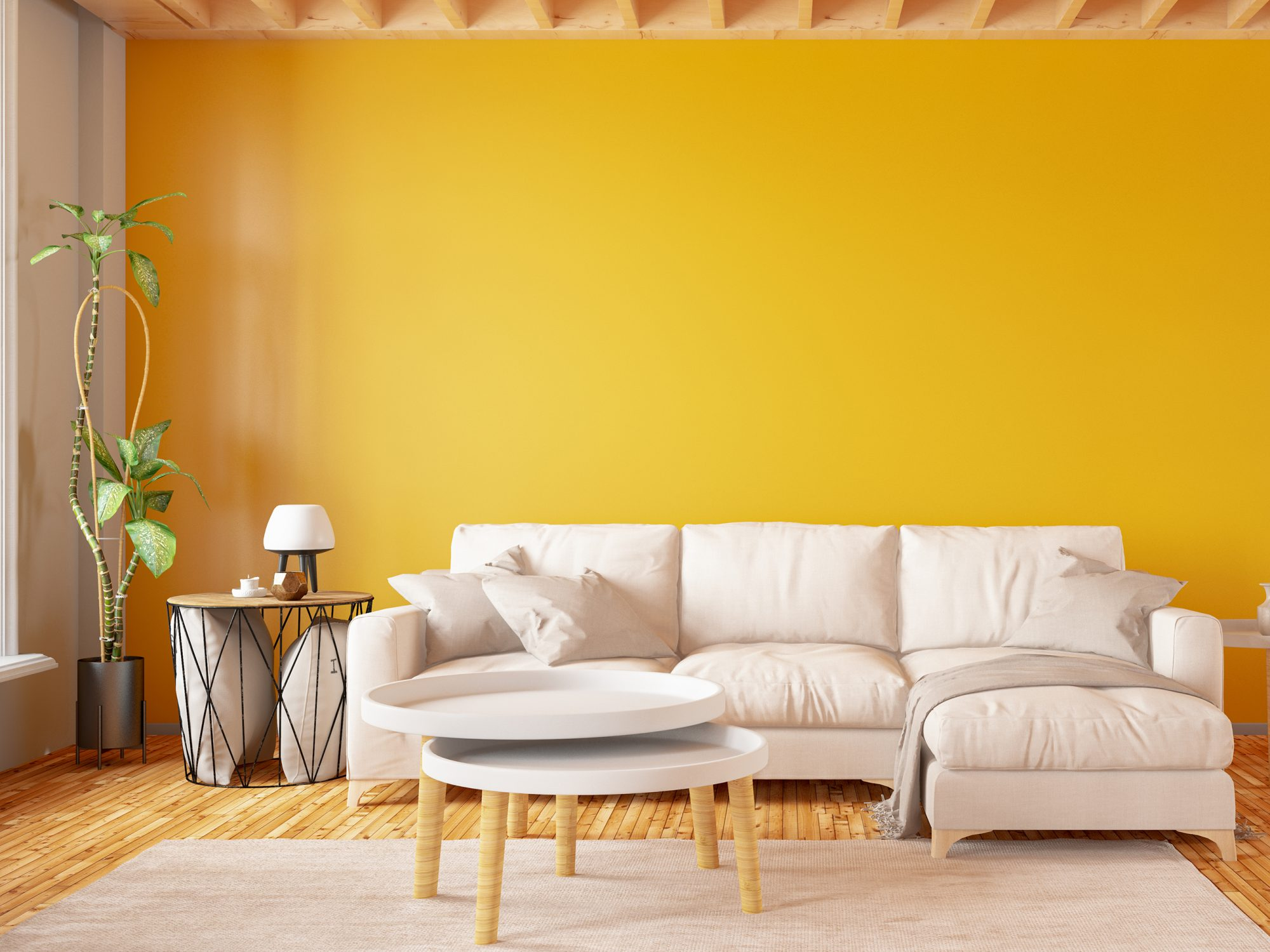 What Your Favorite Paint Color Says About Your Personality, yellow room