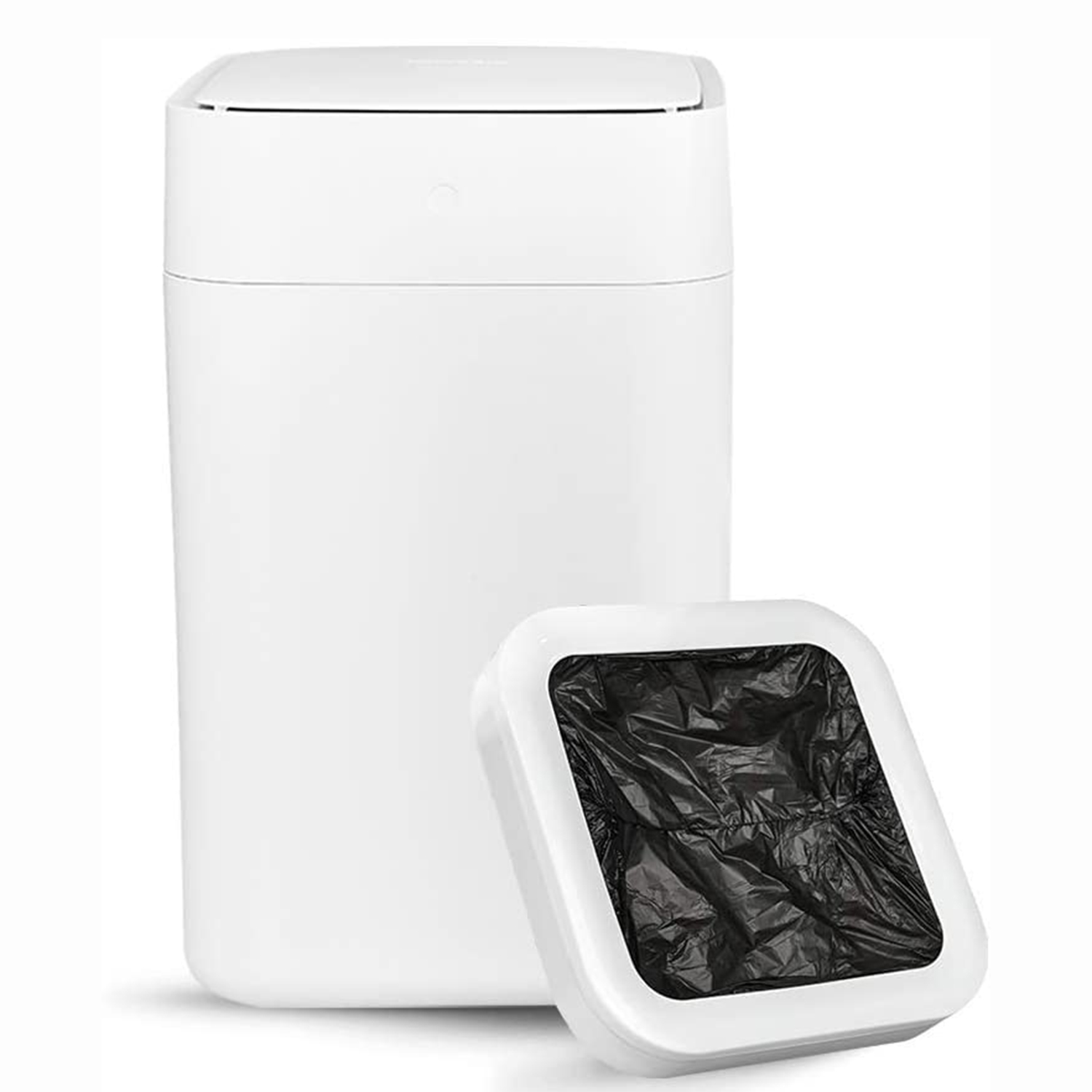 TOWNEW T1 Self-Sealing and Self-Changing 4 Gallon Trash Can