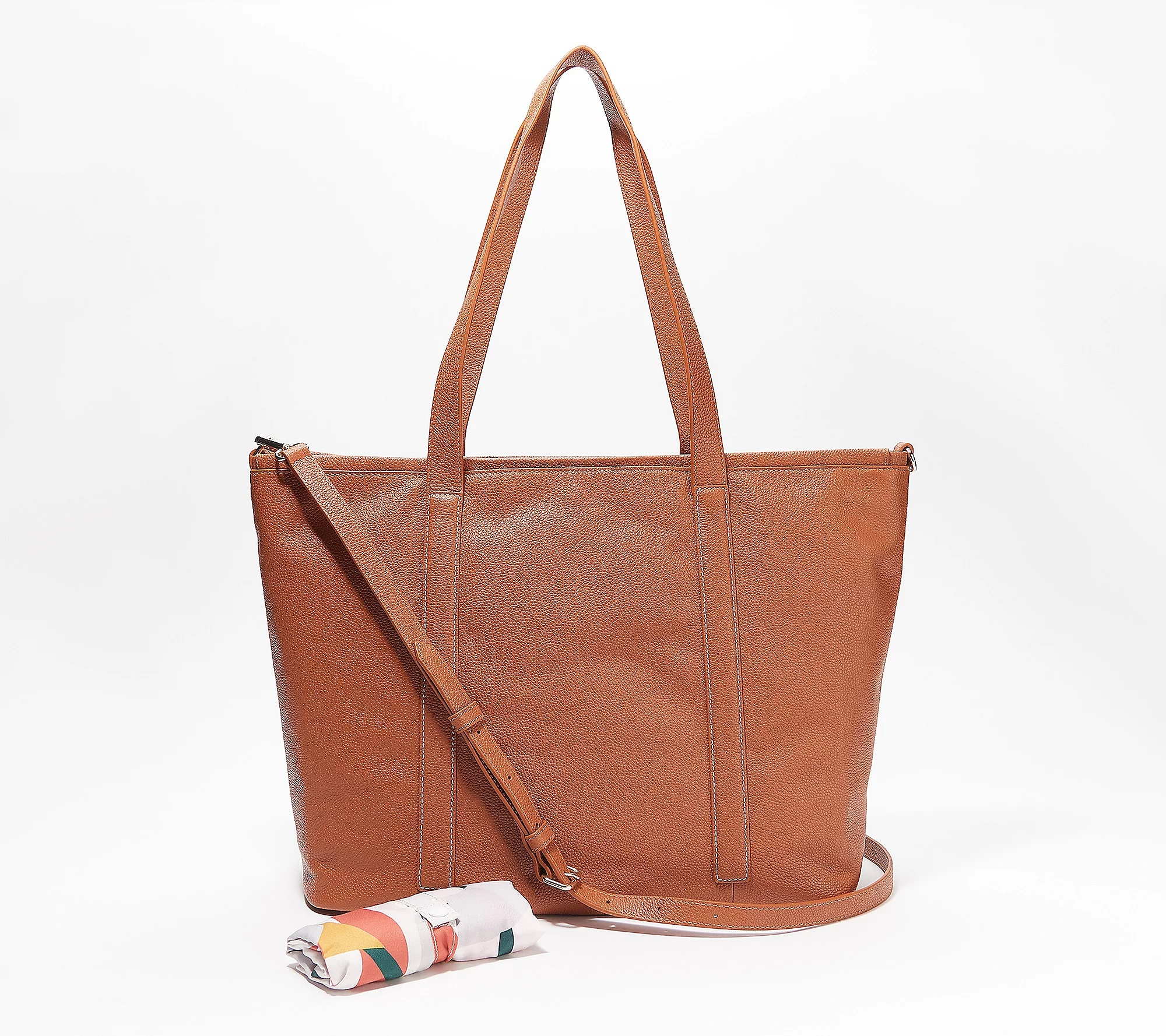 REAL SIMPLE Handbags on QVC: Creative Commuter Zip Tote