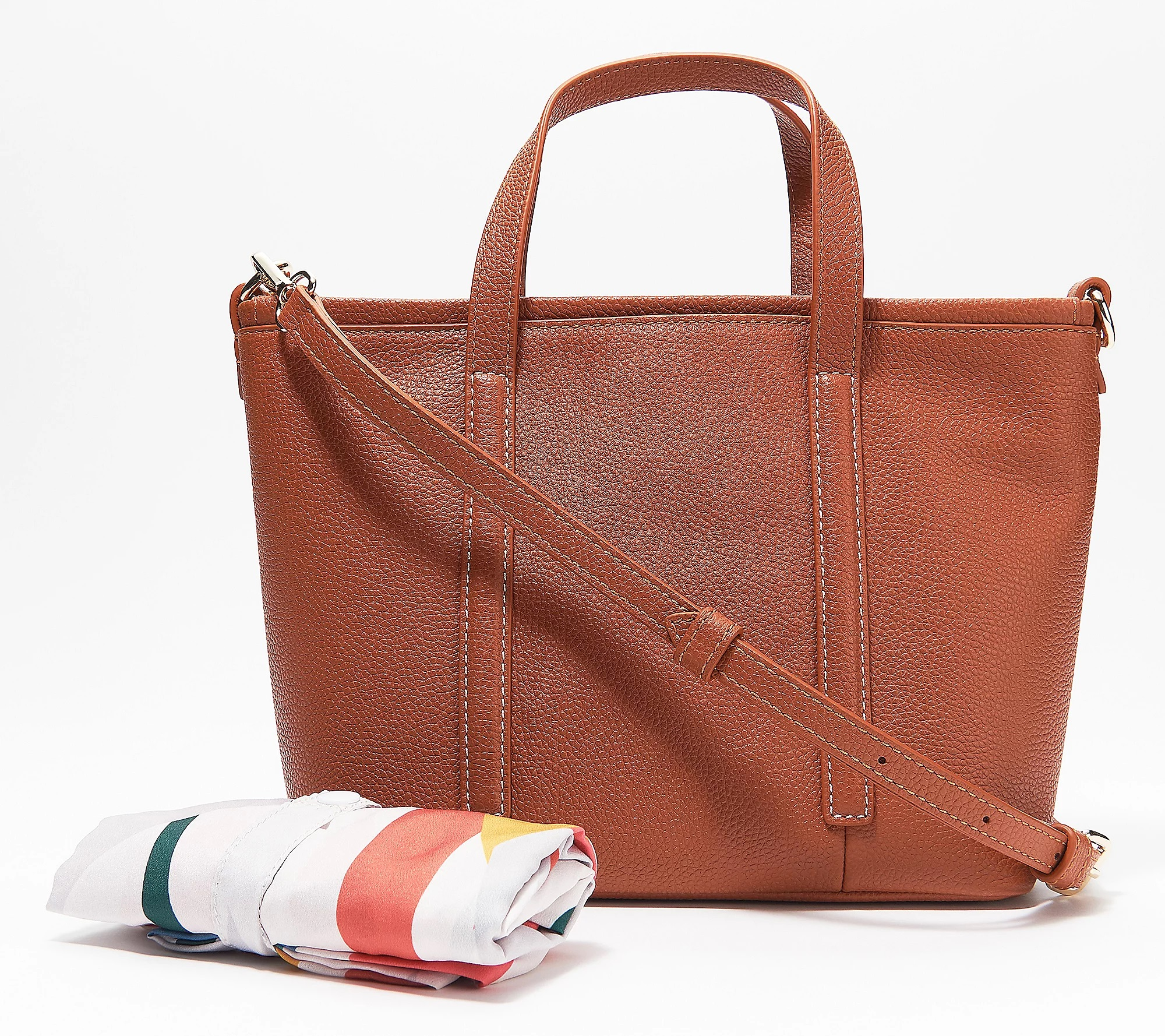 REAL SIMPLE Handbags on QVC: Creative Commuter Small Zip Tote