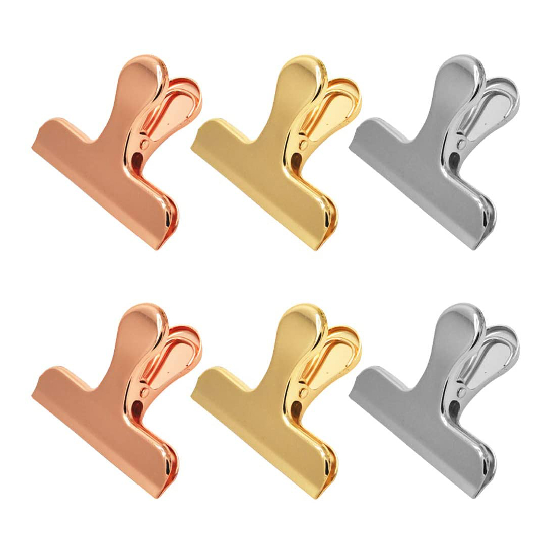 Stainless Steel Bag Clips