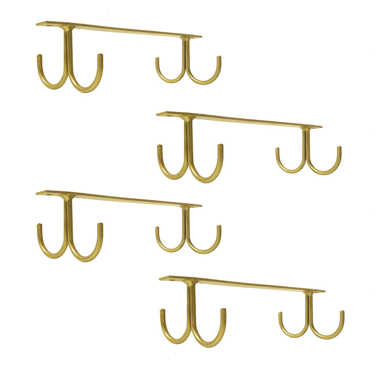 Gold Coffee Cup Rack
