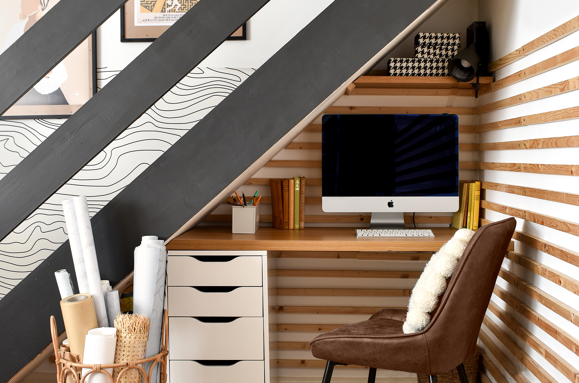 Space of the Week, Under-Stairs Office