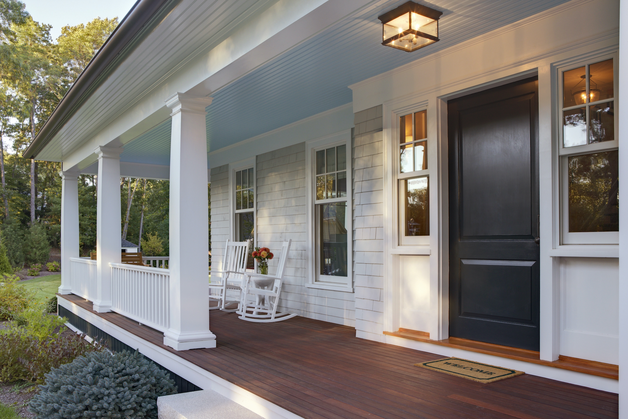 Homebuying Trends 2021, Exterior Lighting on Porch
