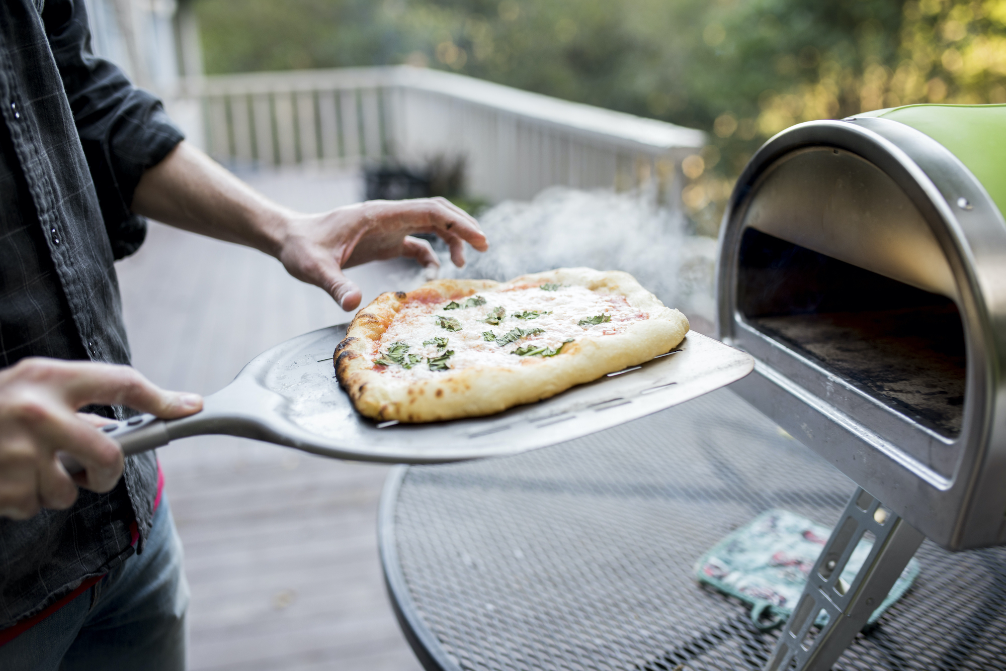 Homebuying Trends 2021, Pizza Oven on deck