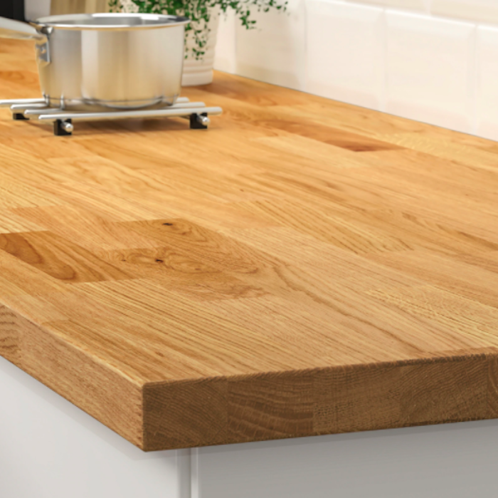 Butcher Block Counter from IKEA