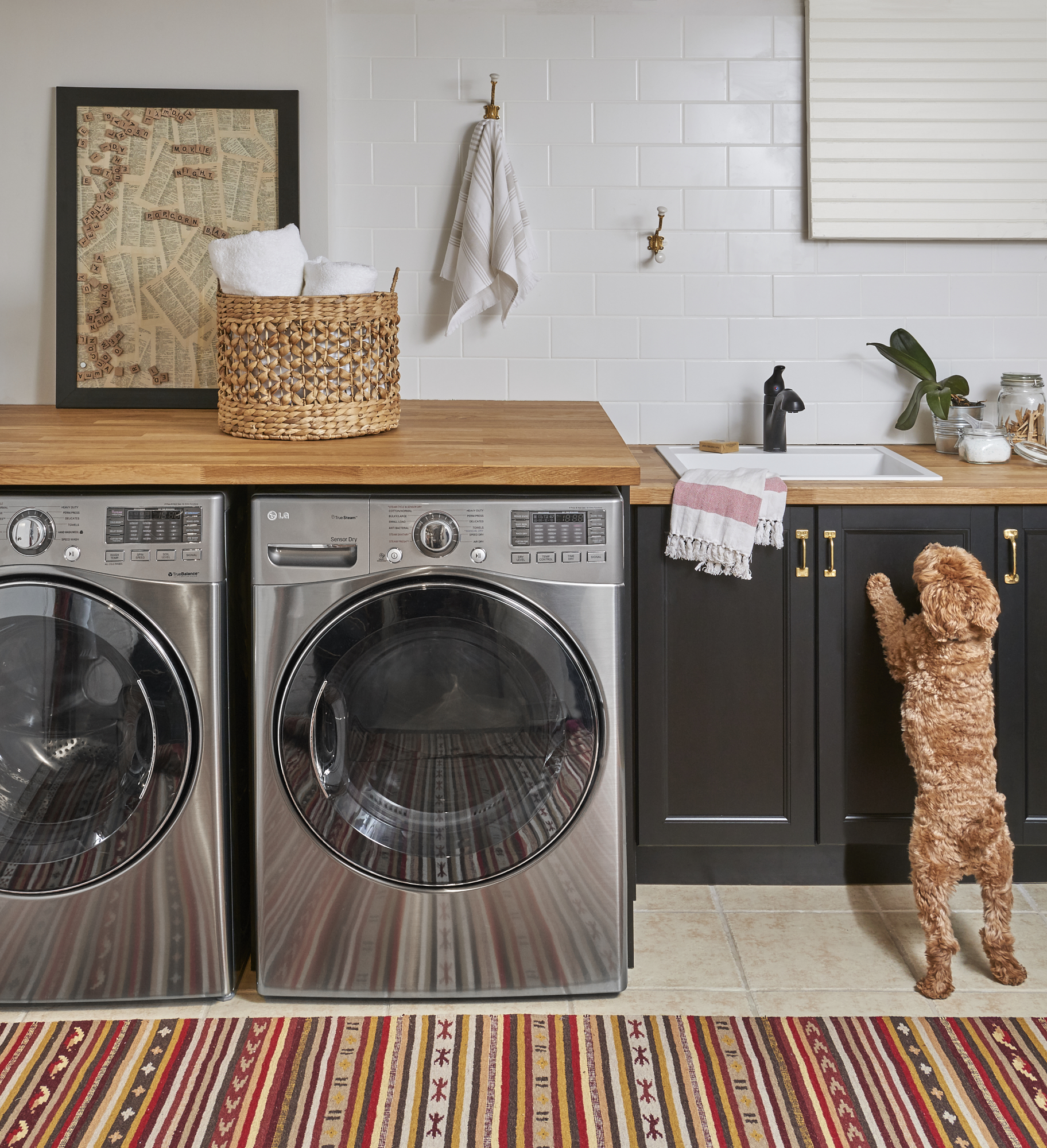 Space of the Week, Laundry Room After