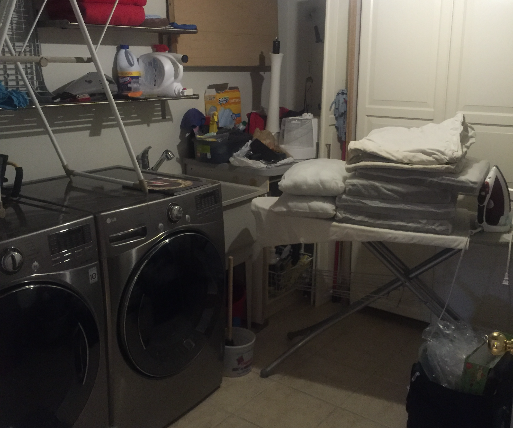 Space of the Week, Laundry Room Before