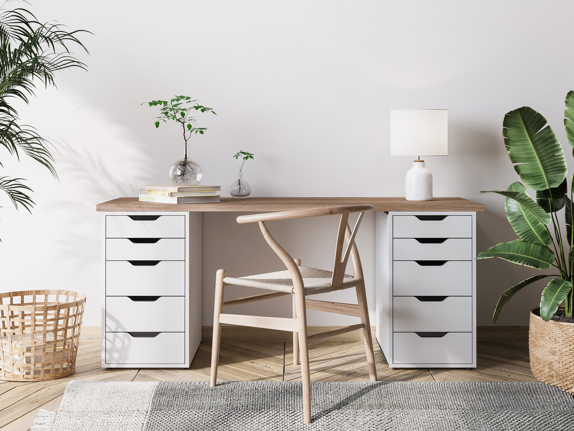 Timesaving Cleaning Tips, Tidy Desk