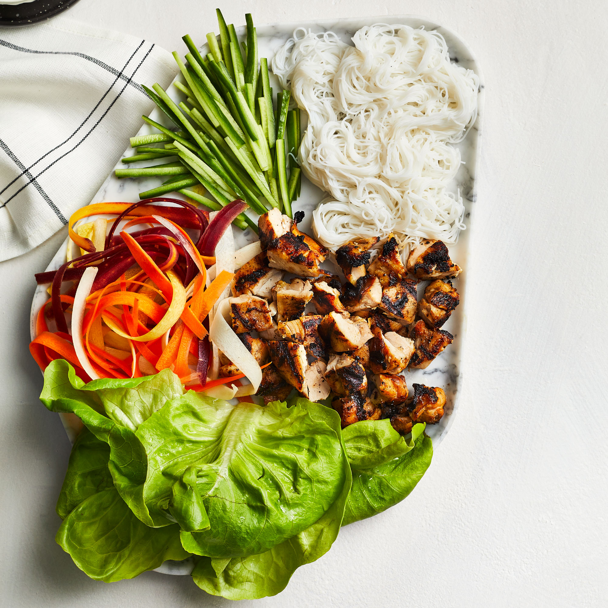 Cool and Crunchy Lettuce Wraps