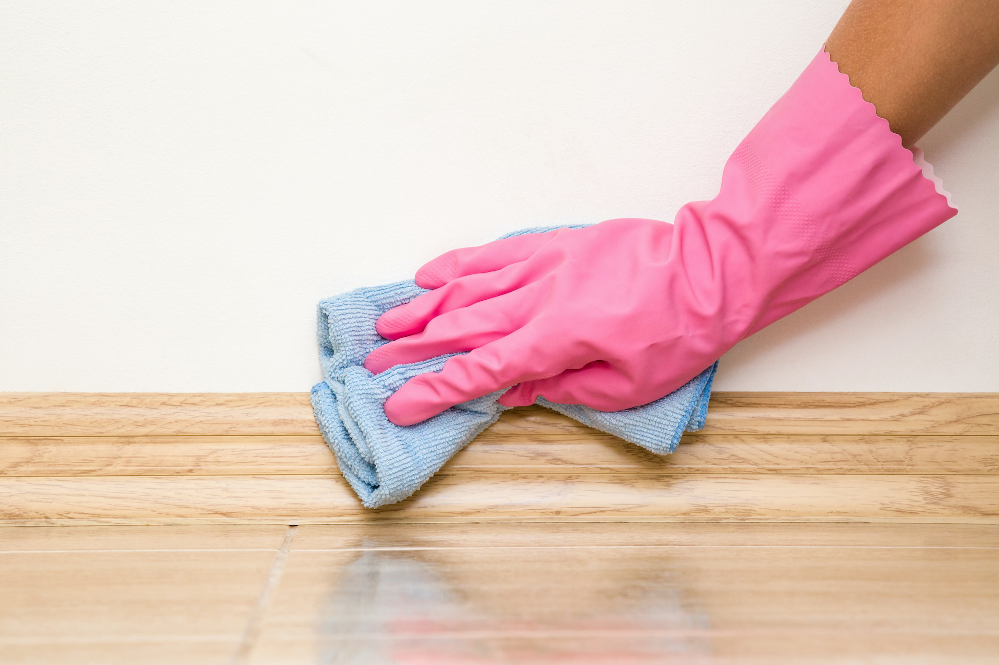 How to Prep Walls for Painting, Clean