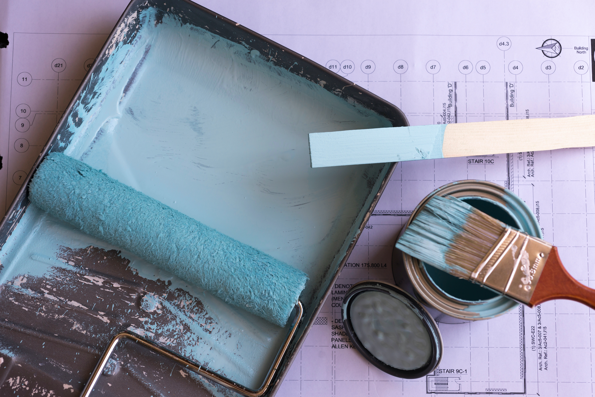 How to Prep Walls for Painting, Gather Supplies