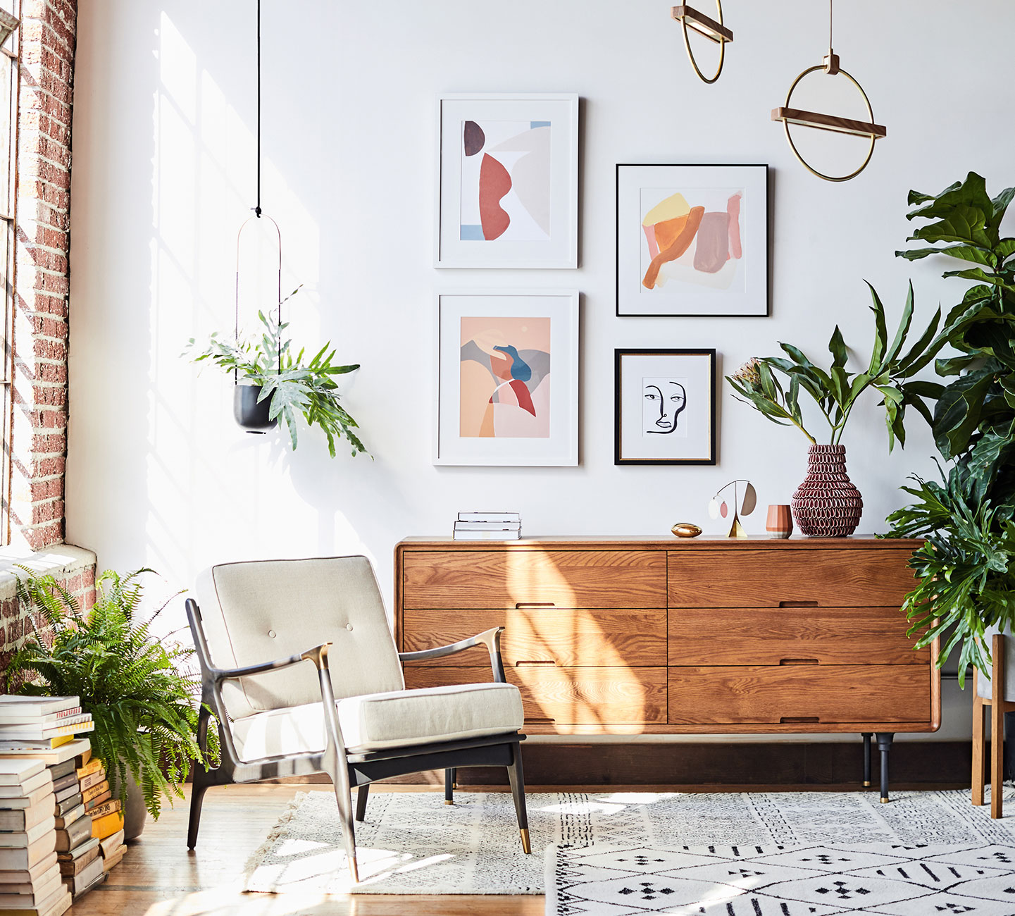Anthropologie Gallery Wall