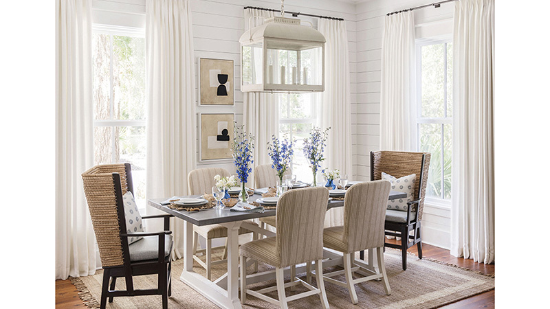 Southern Living House Plans, Lowcountry Dining Room