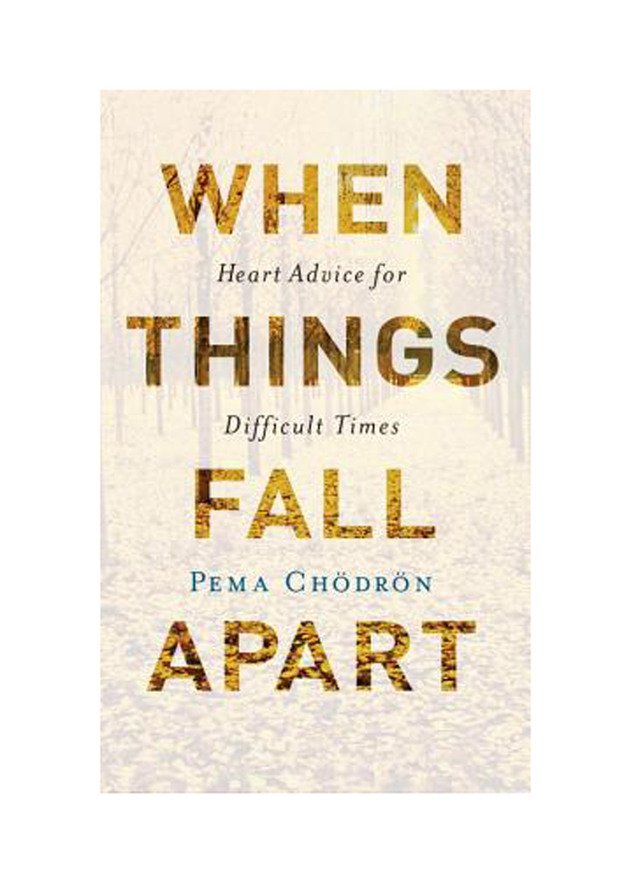 Books for Breakups: When Things Fall Apart: Heart Advice for Difficult Times, by Pema Chödrön