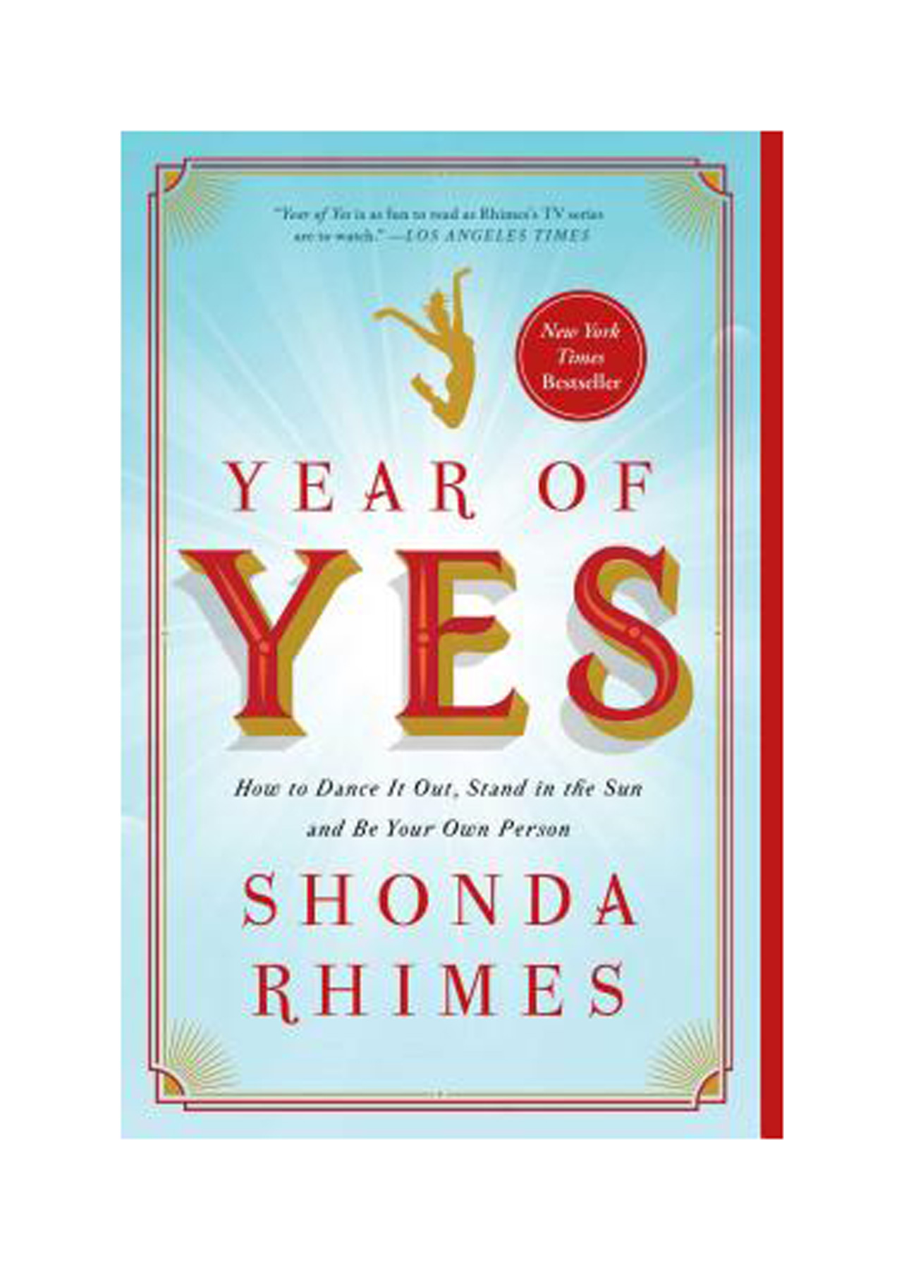 Books for Breakups: Year of Yes, by Shonda Rhimes