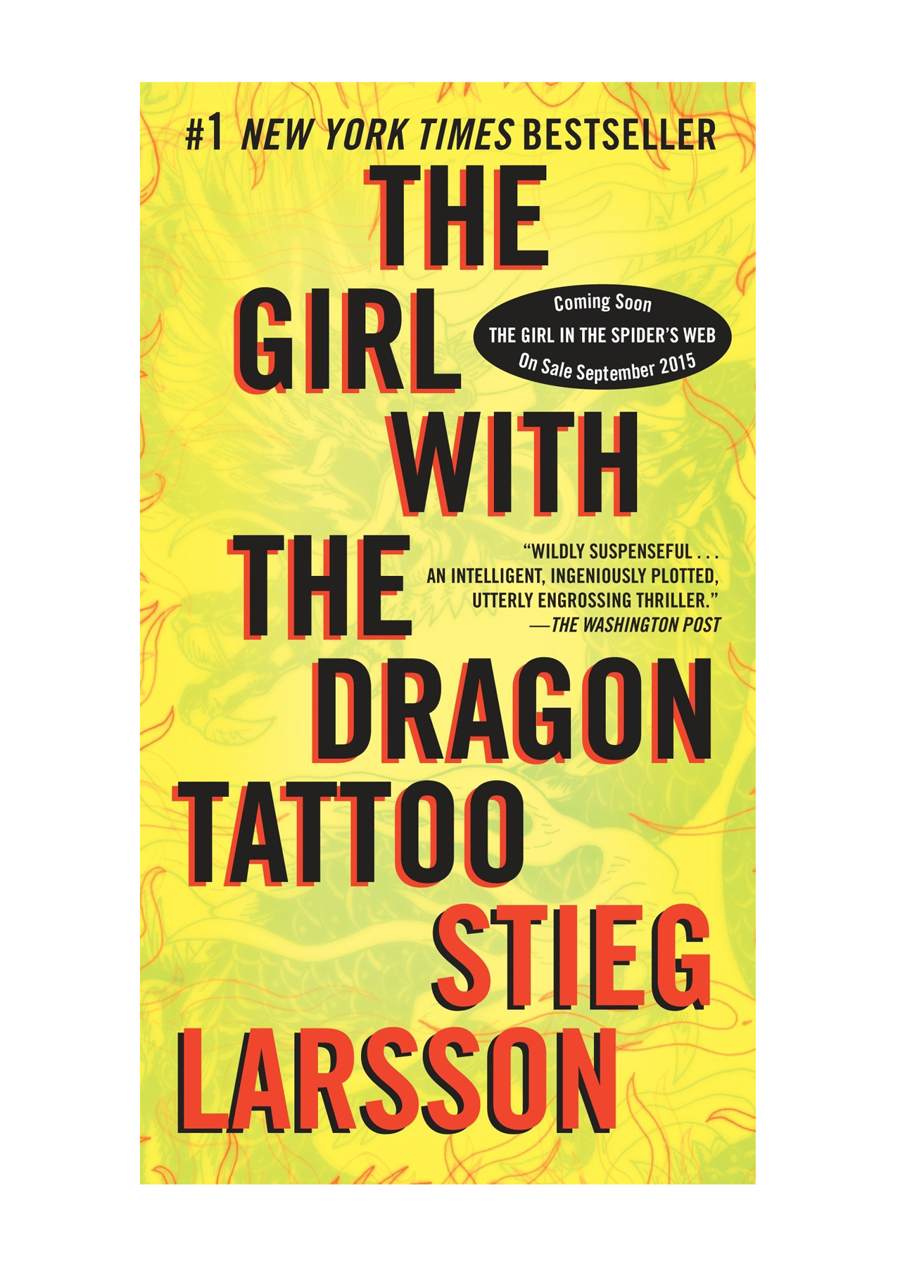 Books for Breakups: The Girl with the Dragon Tattoo by Stieg Larrson