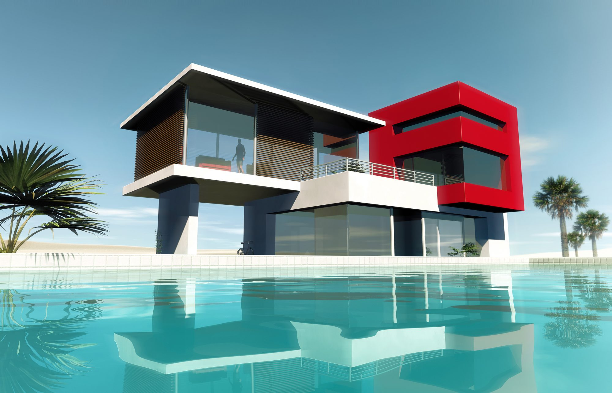 does-a-pool-add-home-value: house with pool