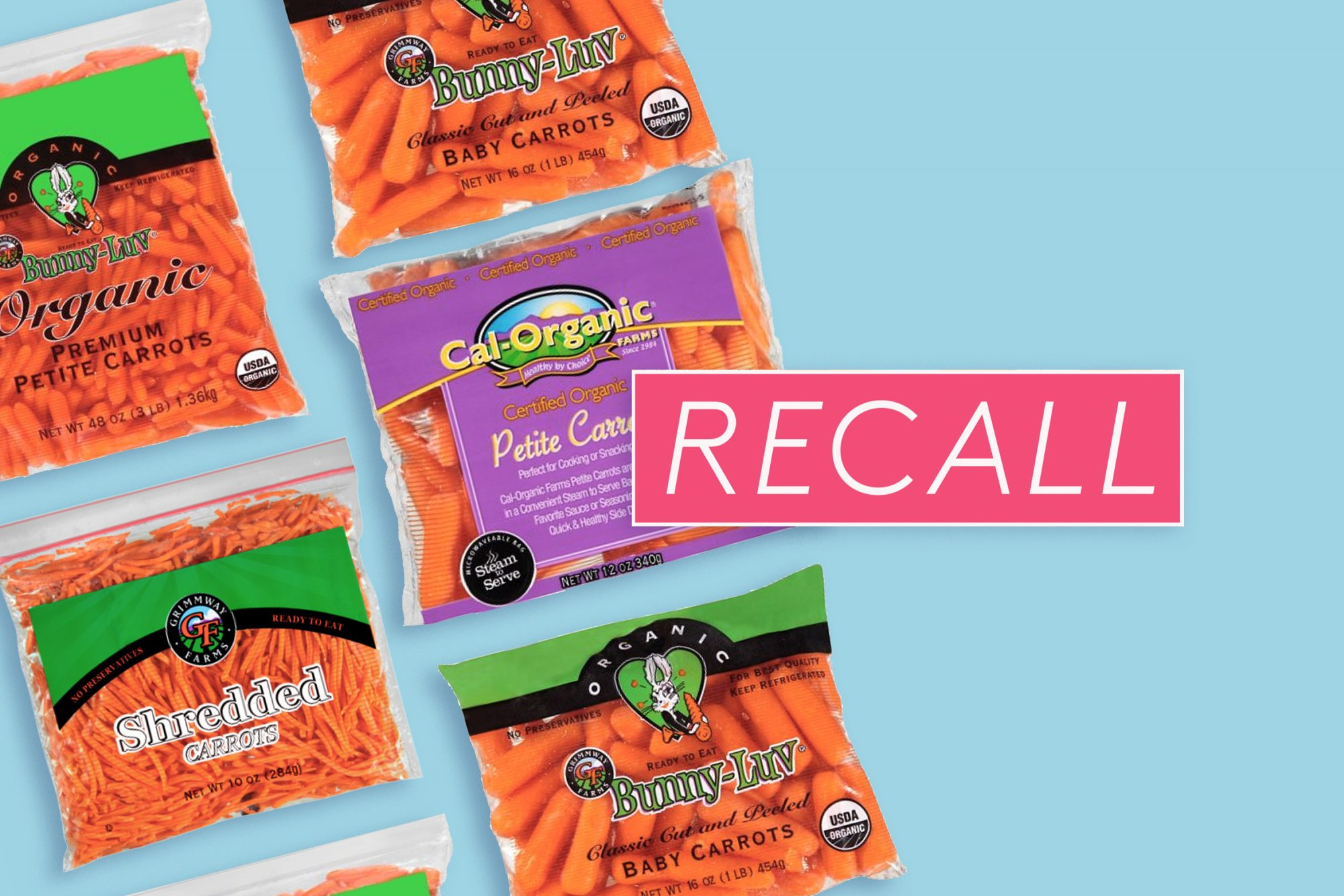 Carrot Recall: California Company Announces Possible Salmonella Contamination in Baby and Shredded Carrots