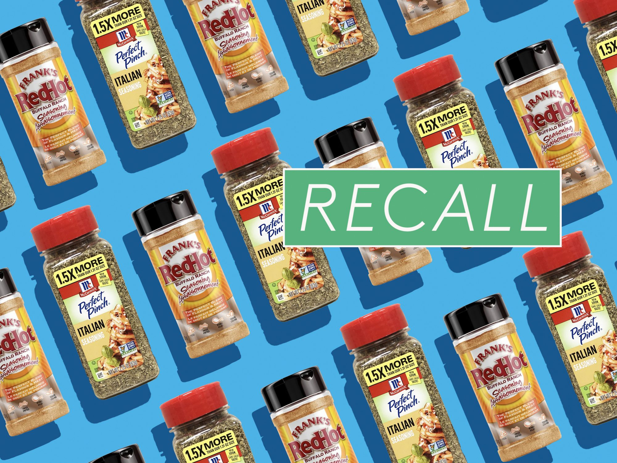 McCormick Is Voluntarily Recalling Seasonings in 32 States Due to Possible Salmonella Risk