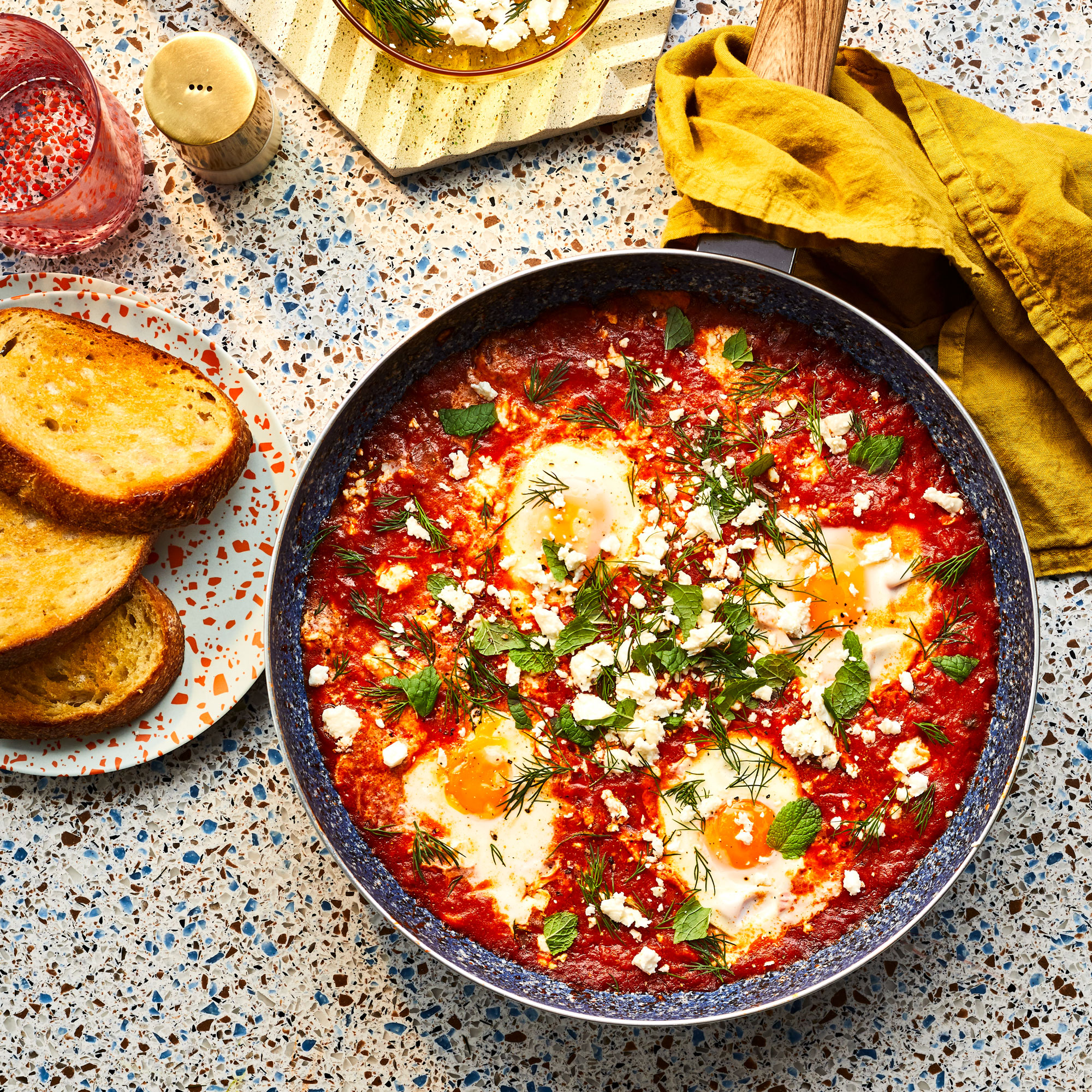 Saucy Simmered Eggs