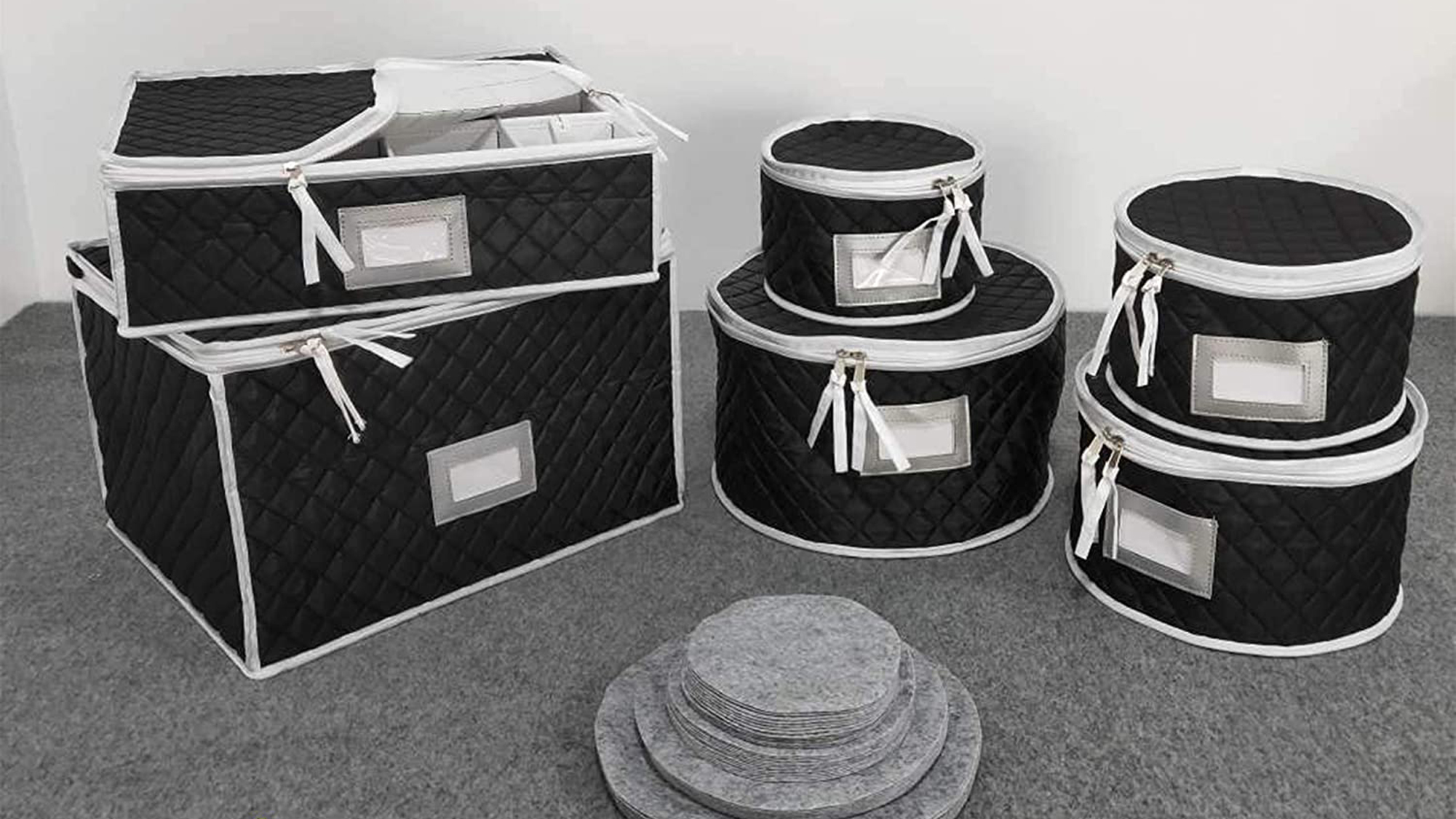 Complete Dinnerware Storage Set #1 Best Protection for Storing or Transporting