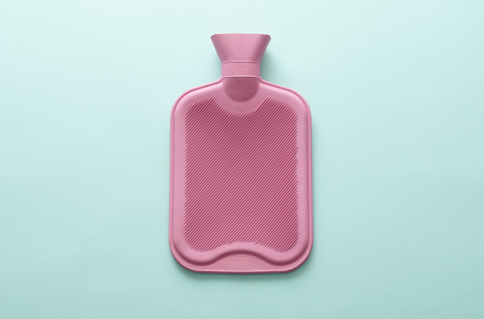 How to relieve period pain: Hot water bottle