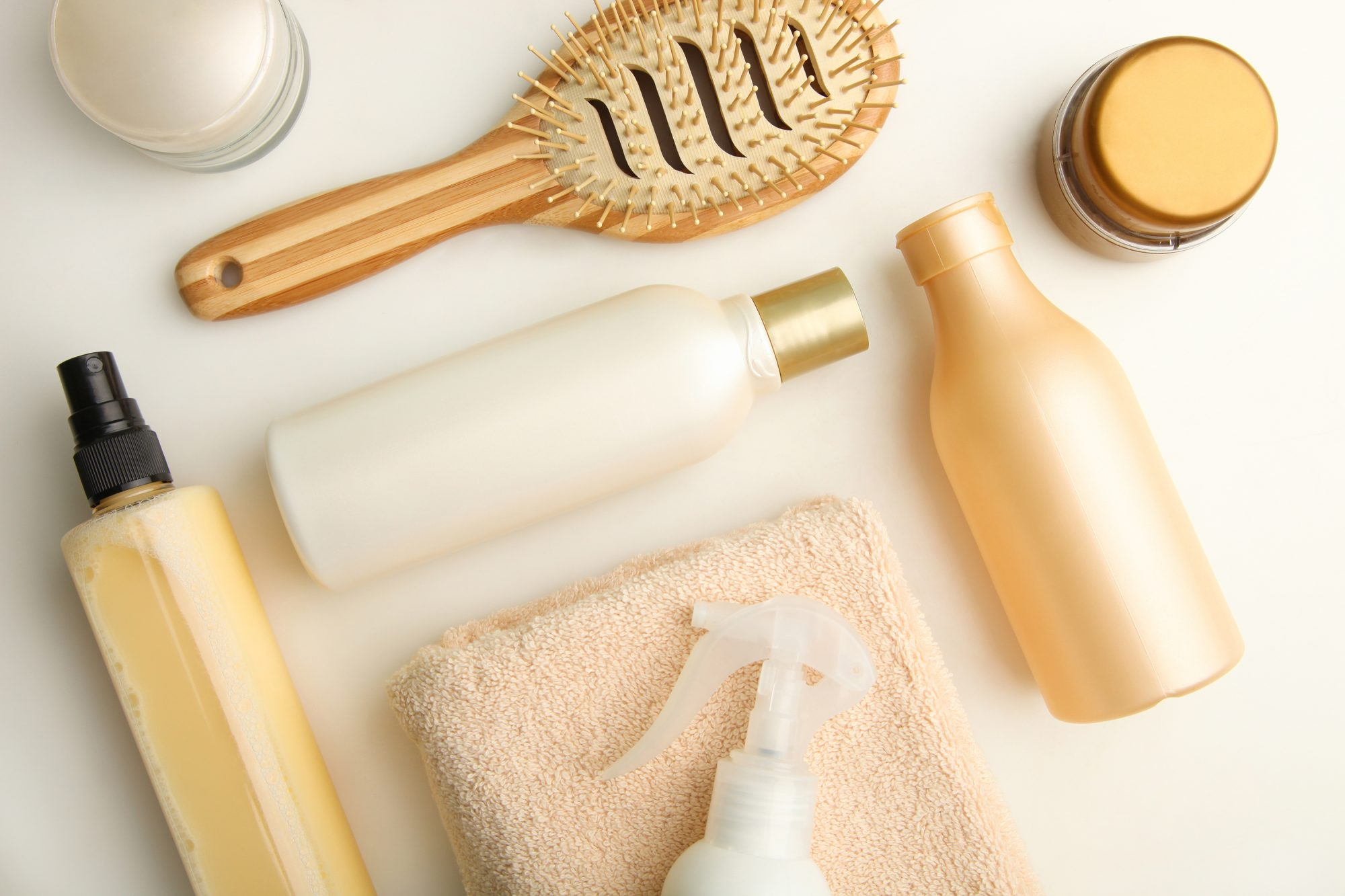 Set of hair care products