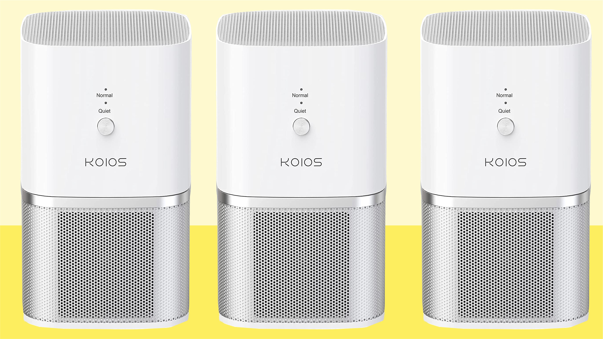 KOIOS Air Purifier, Small Air Purifiers with True HEPA Filter
