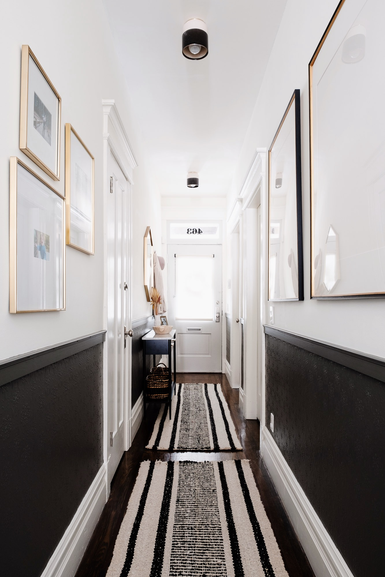 Space of Week, Black and White Entryway