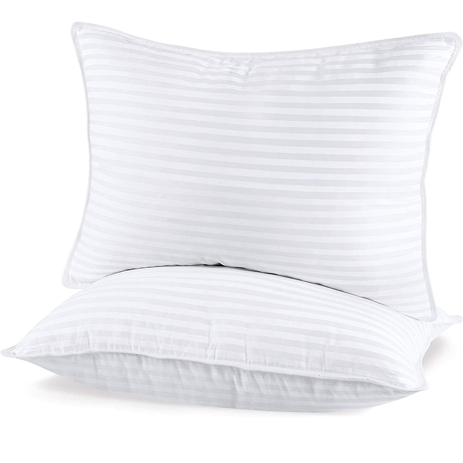 Utopia Bedding Bed Pillows for Sleeping Standard Size, Set of 2,