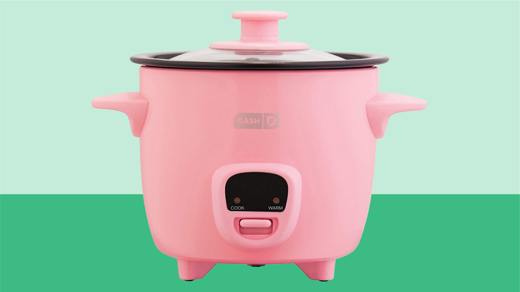 Dash Mini Rice Cooker Steamer with Removable Nonstick Pot