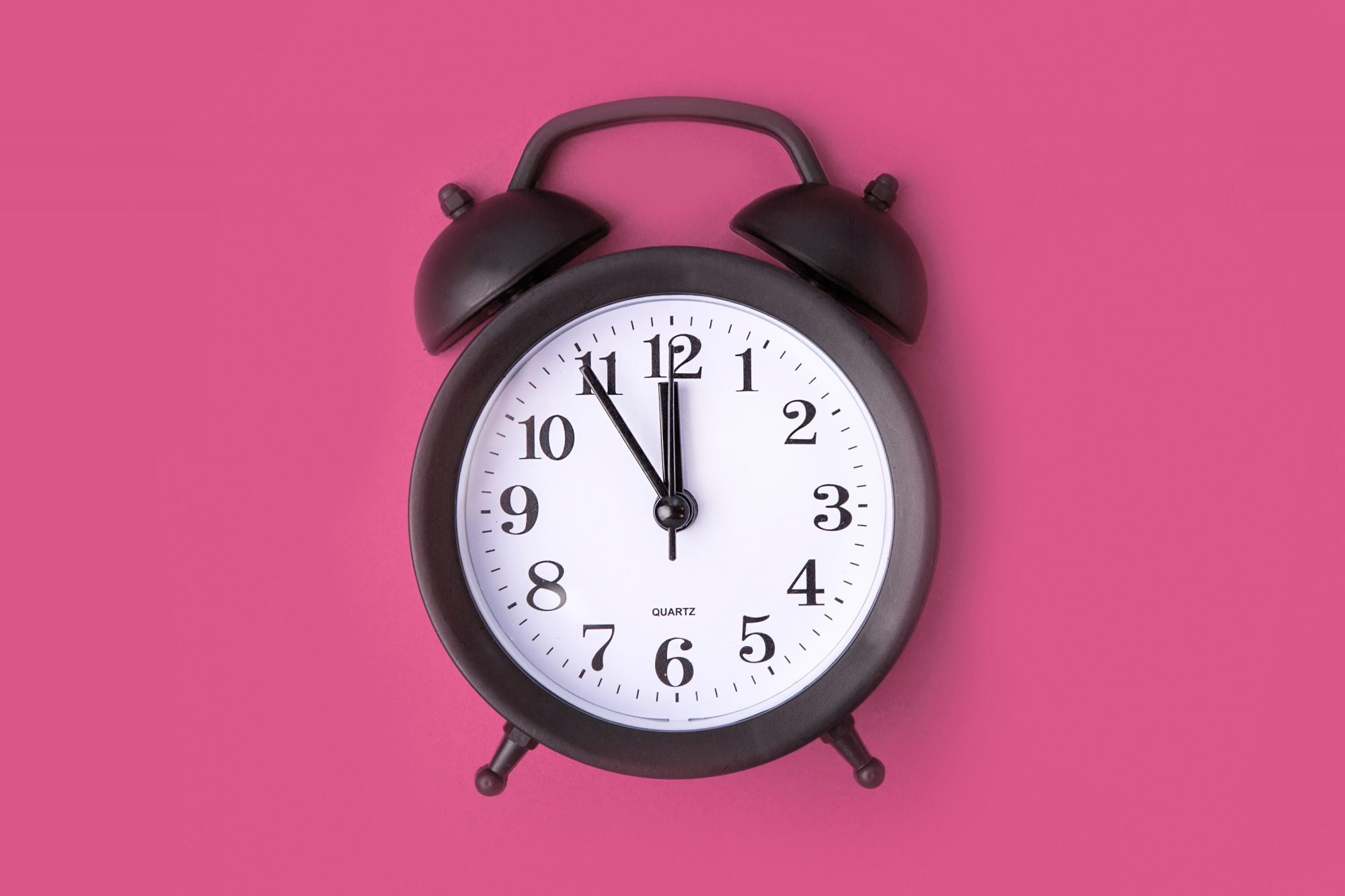 Why Going to Sleep Before Midnight Is Important for Health: alarm clock