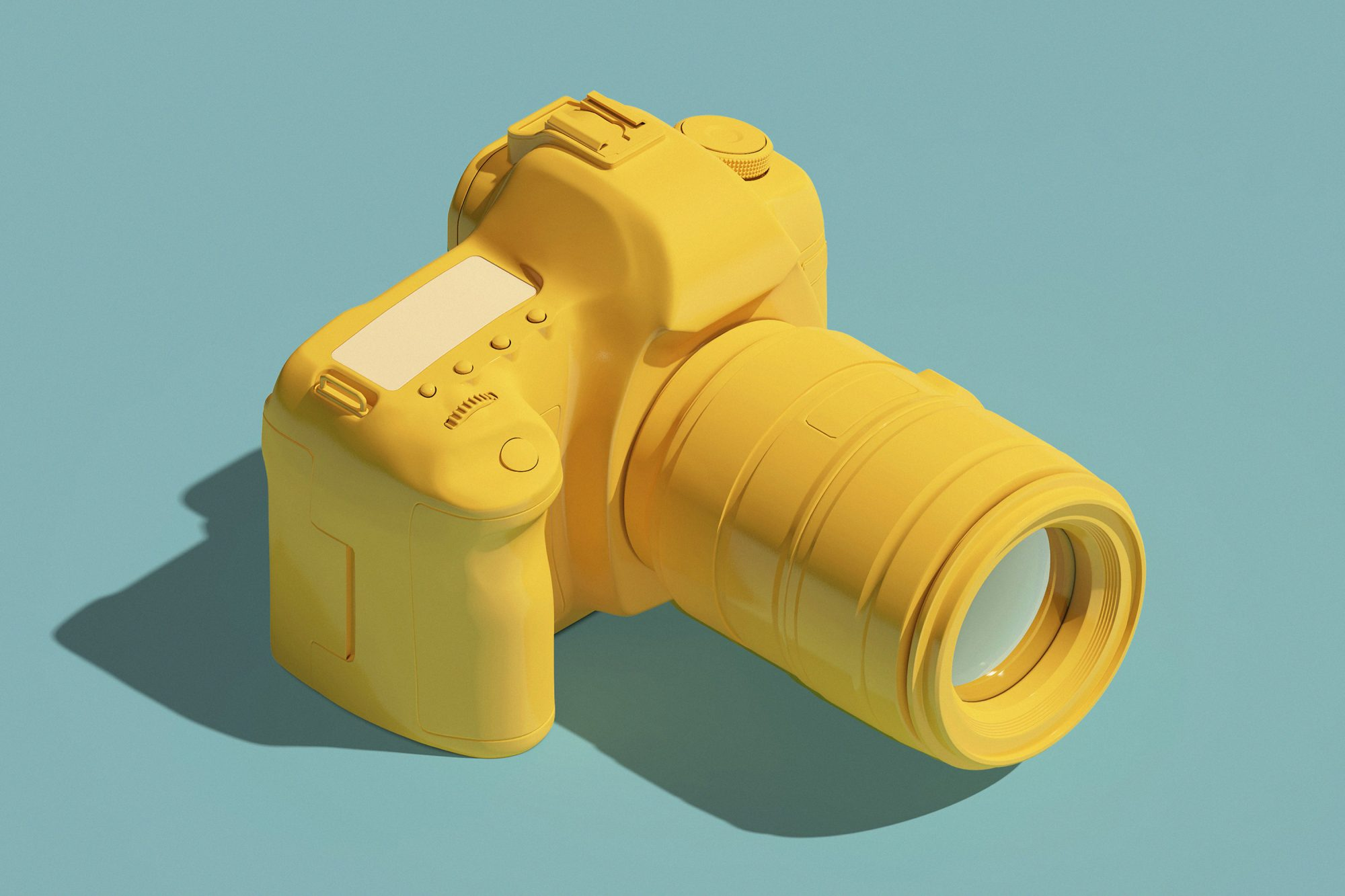 beginner photography tips from professional photographers: yellow camera