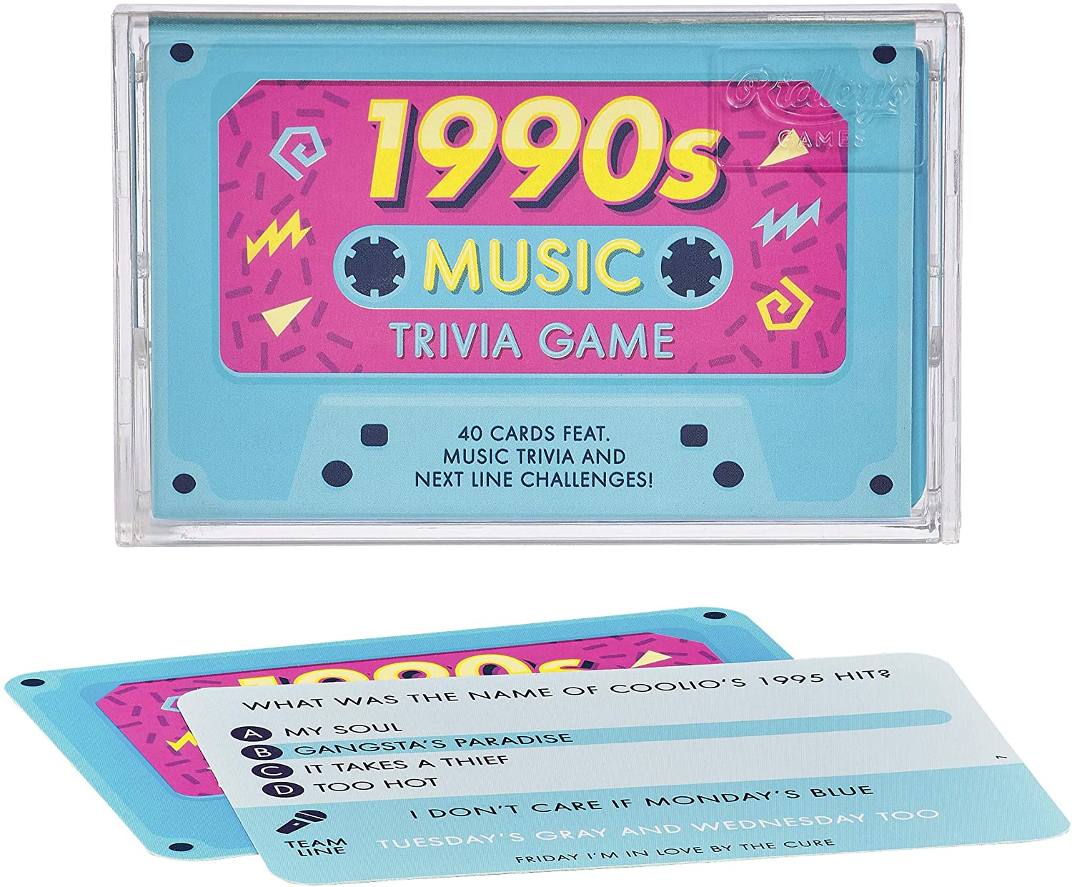 Ridley's 1990s Music Trivia Card Game