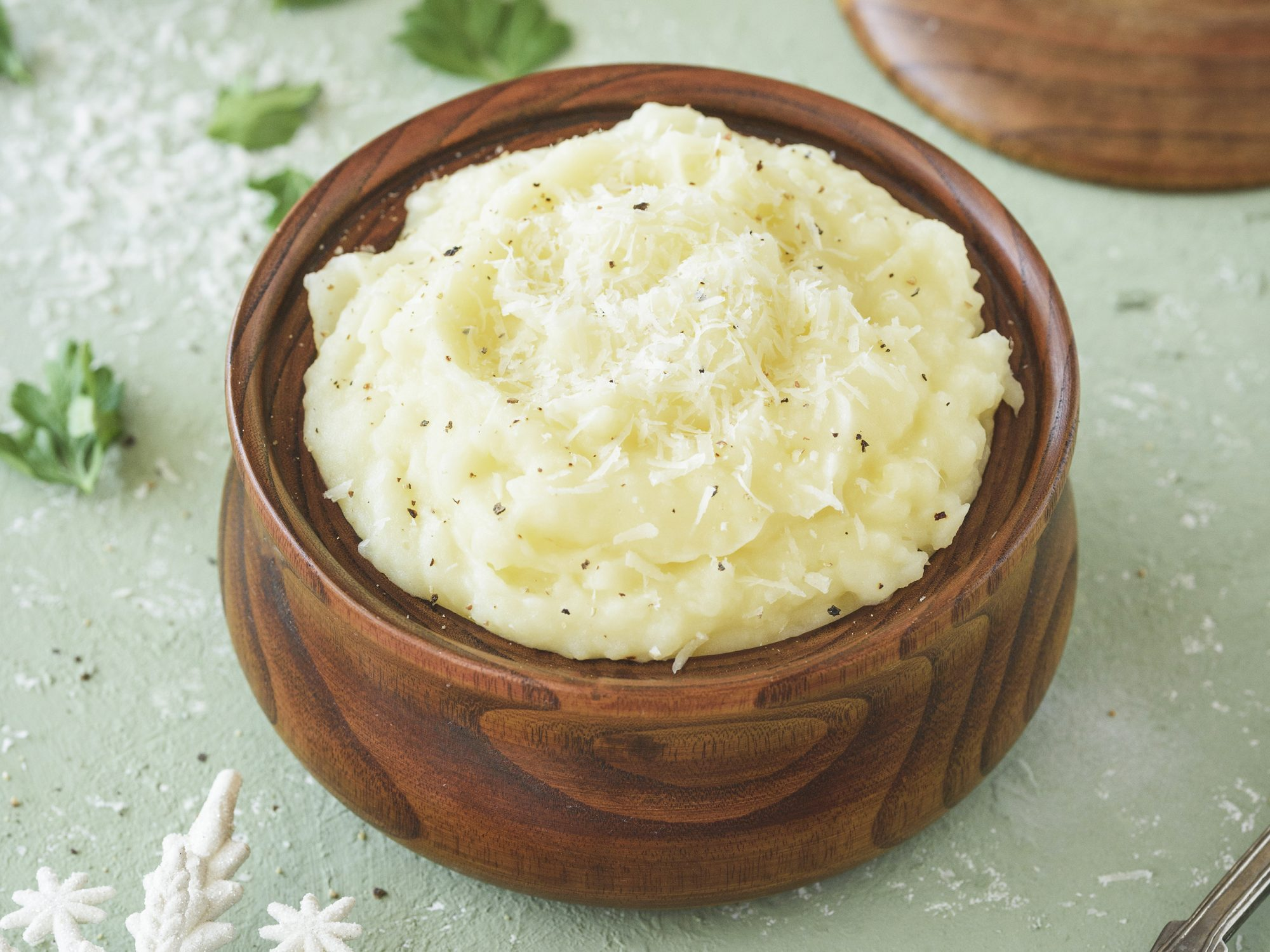 Mashed potatoes with cheese: blender hack for making mashed potatoes