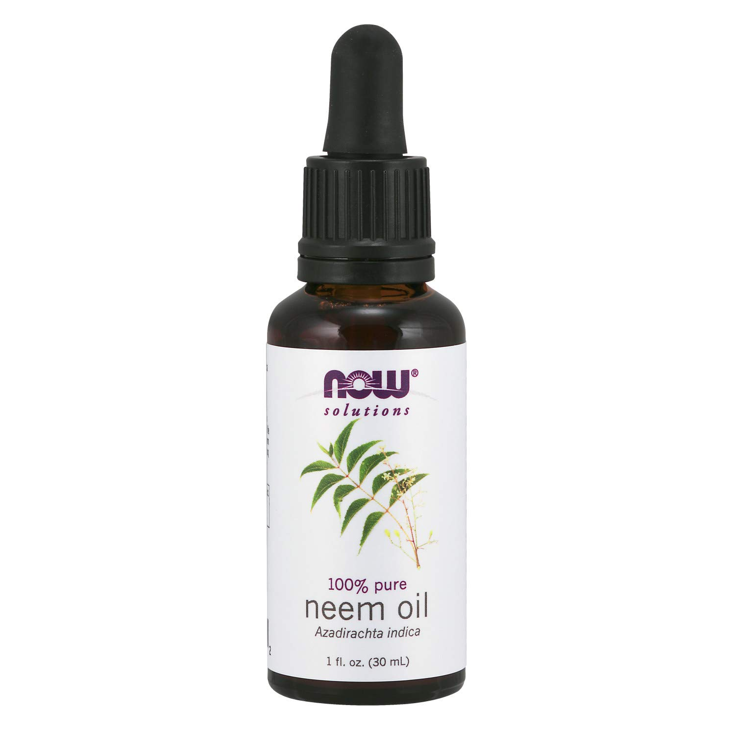 NOW Solutions, Neem Oil, 100% Pure, Made From Azadirachta Indica
