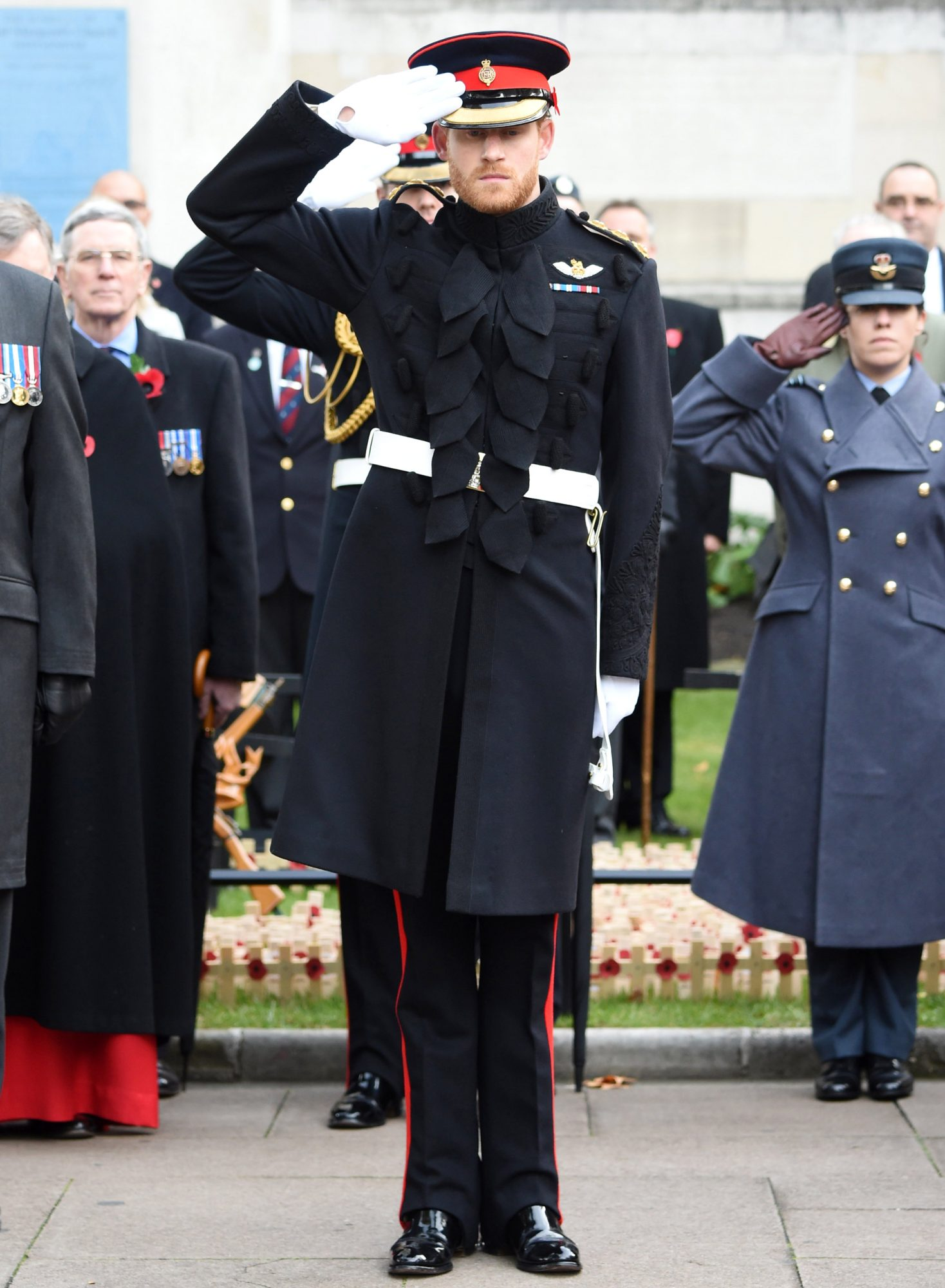 Prince Harry Returns to His Military Uniform to Honor Fallen Soldiers in a Solemn Ceremony