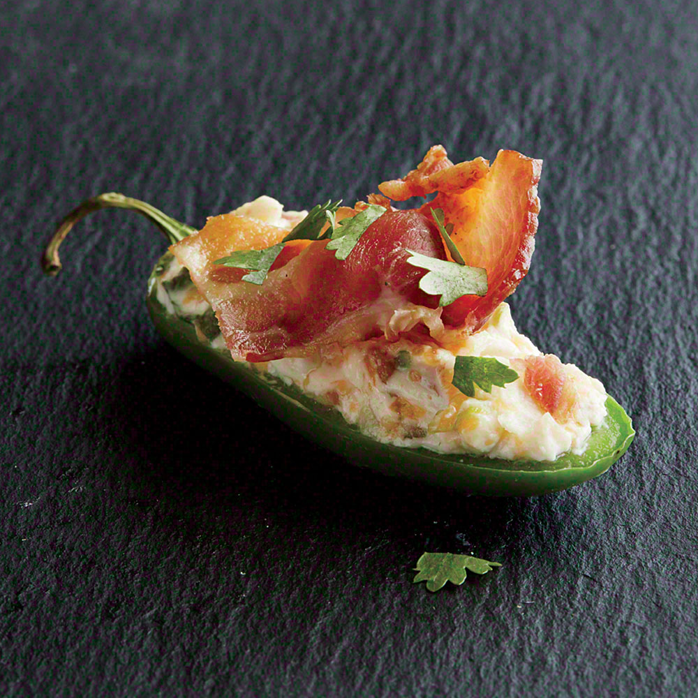 Bacon Stuffed Jalapeños Recipe