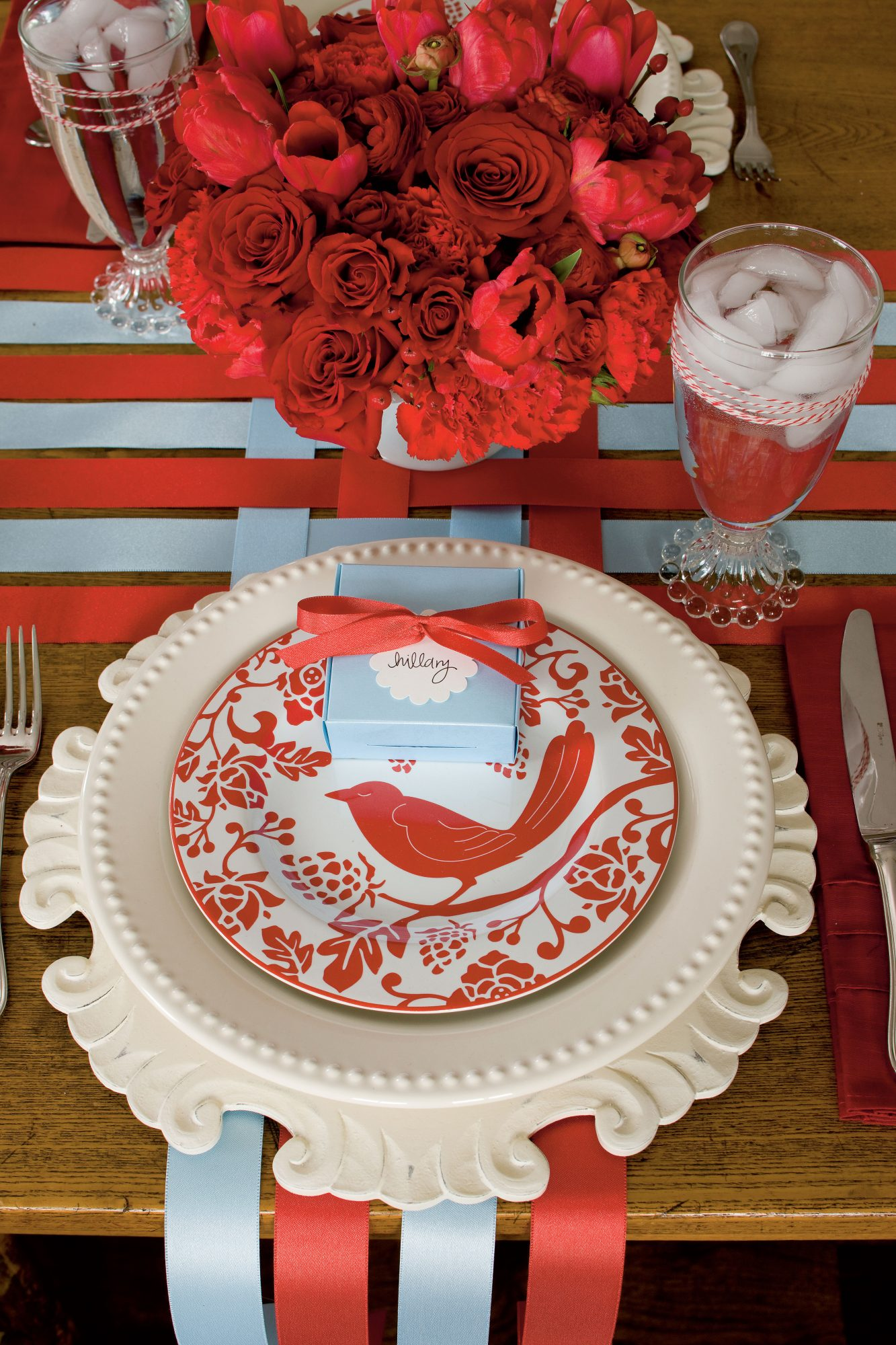 Set a Colorful Table