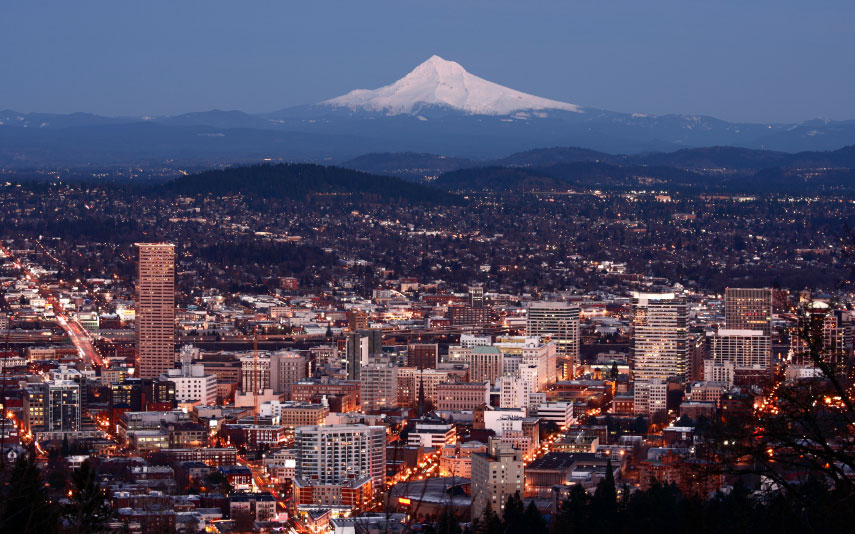 America's best cities for winter travel: Portland, OR