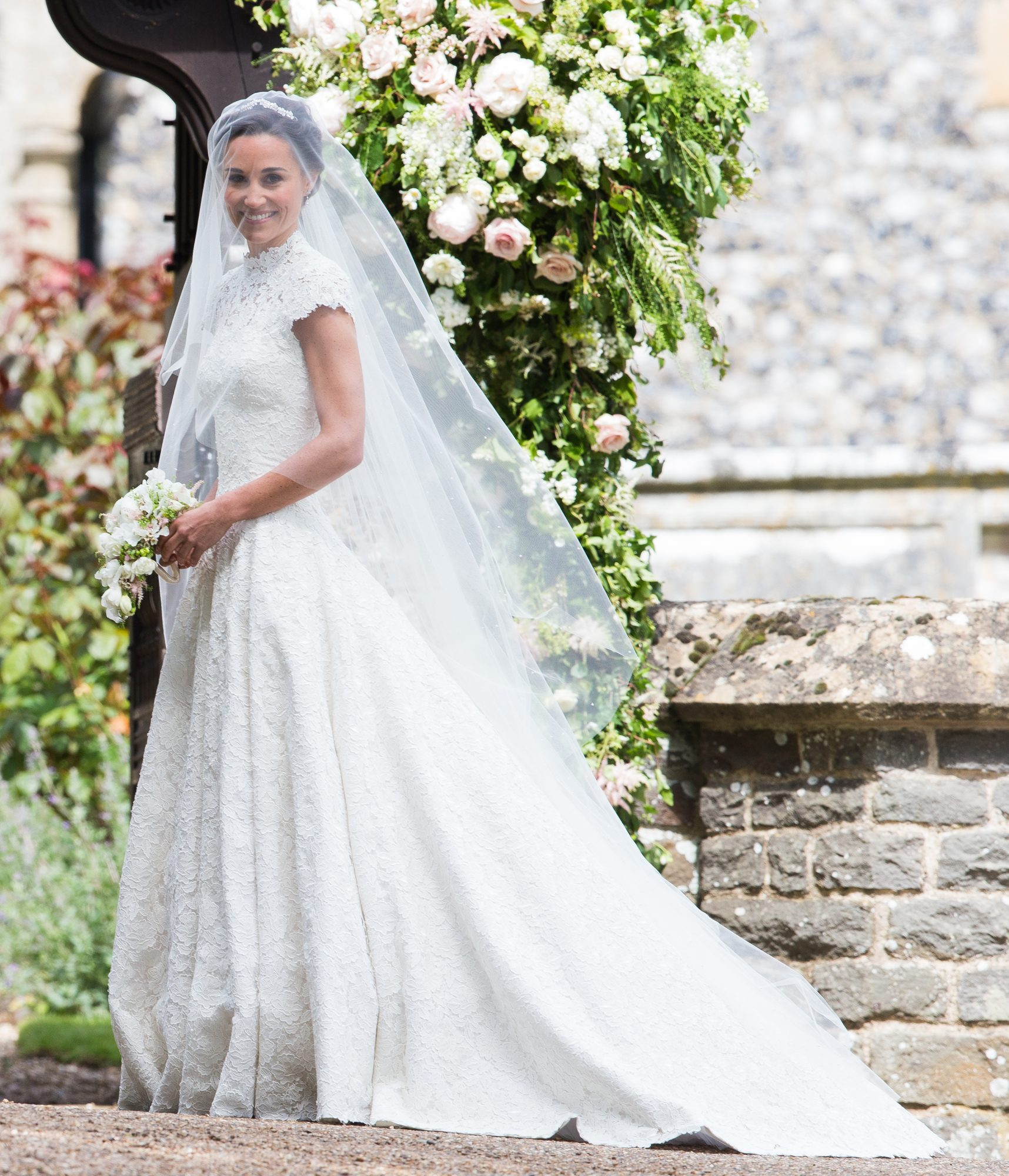 Pippa Middleton Wedding Veil