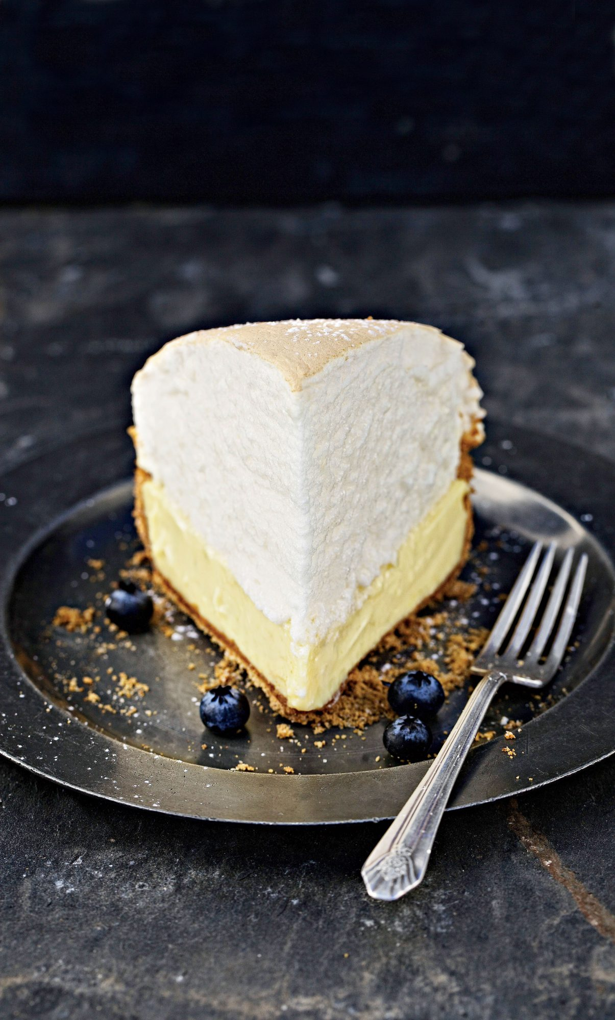 Tequila-Key Lime Meringue Pie