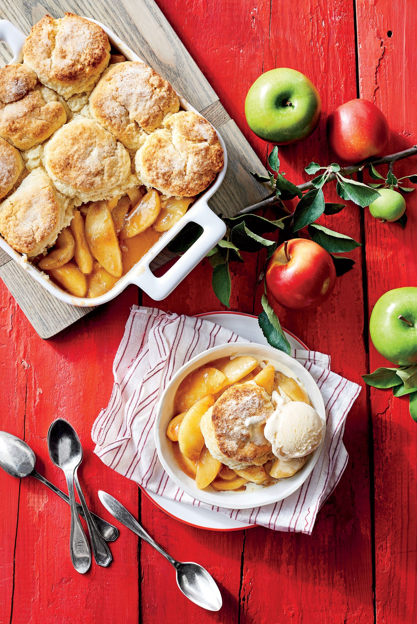 Classic Apple Cobbler